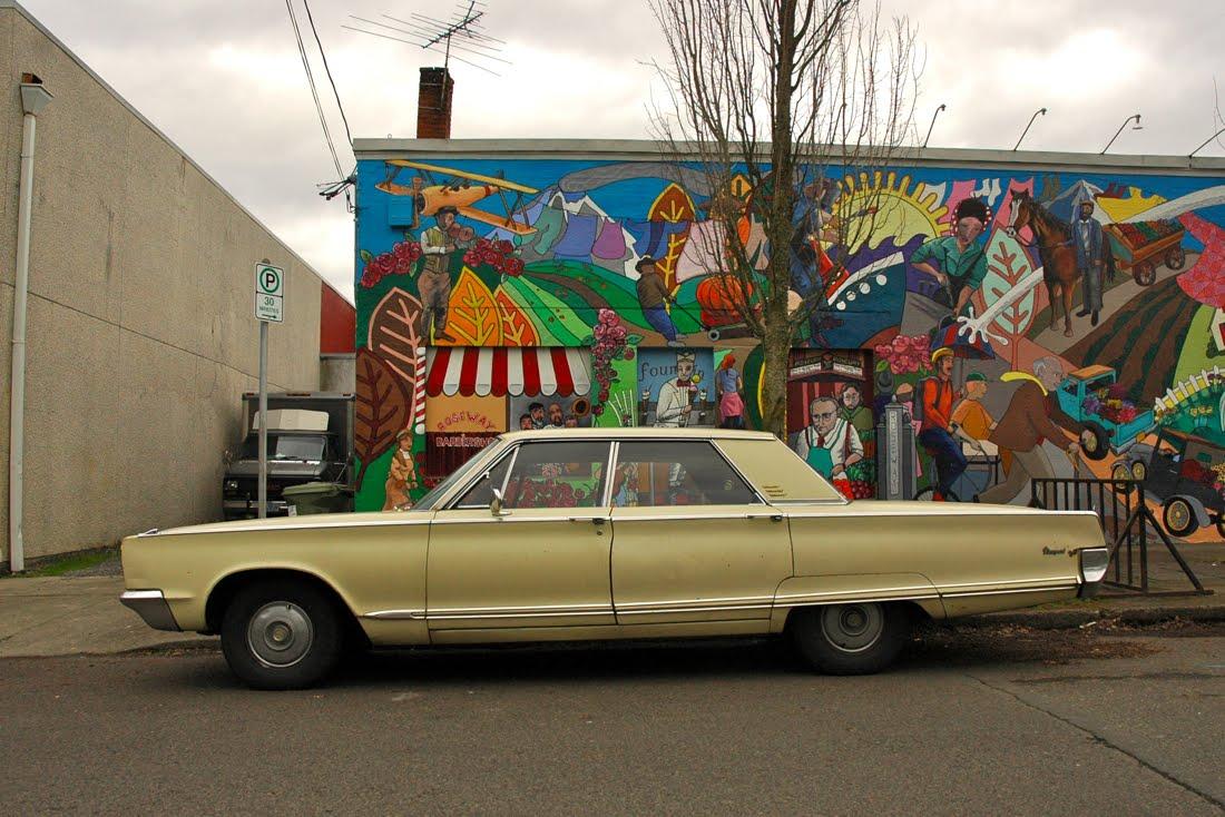 Parked Cars Revisited 1966 Chrysler Newport 4 Door