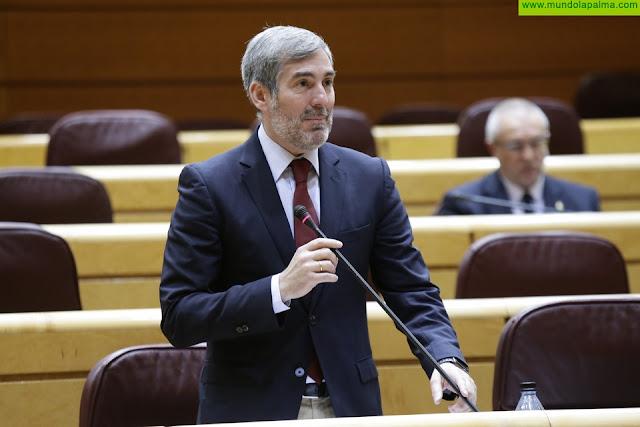 Clavijo reclama al Estado que lidere la defensa de las RUP ante Europa