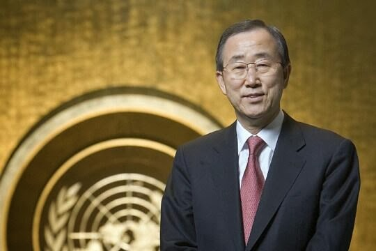 United Nations Secretary-General Ban Ki-moon visits Philippines