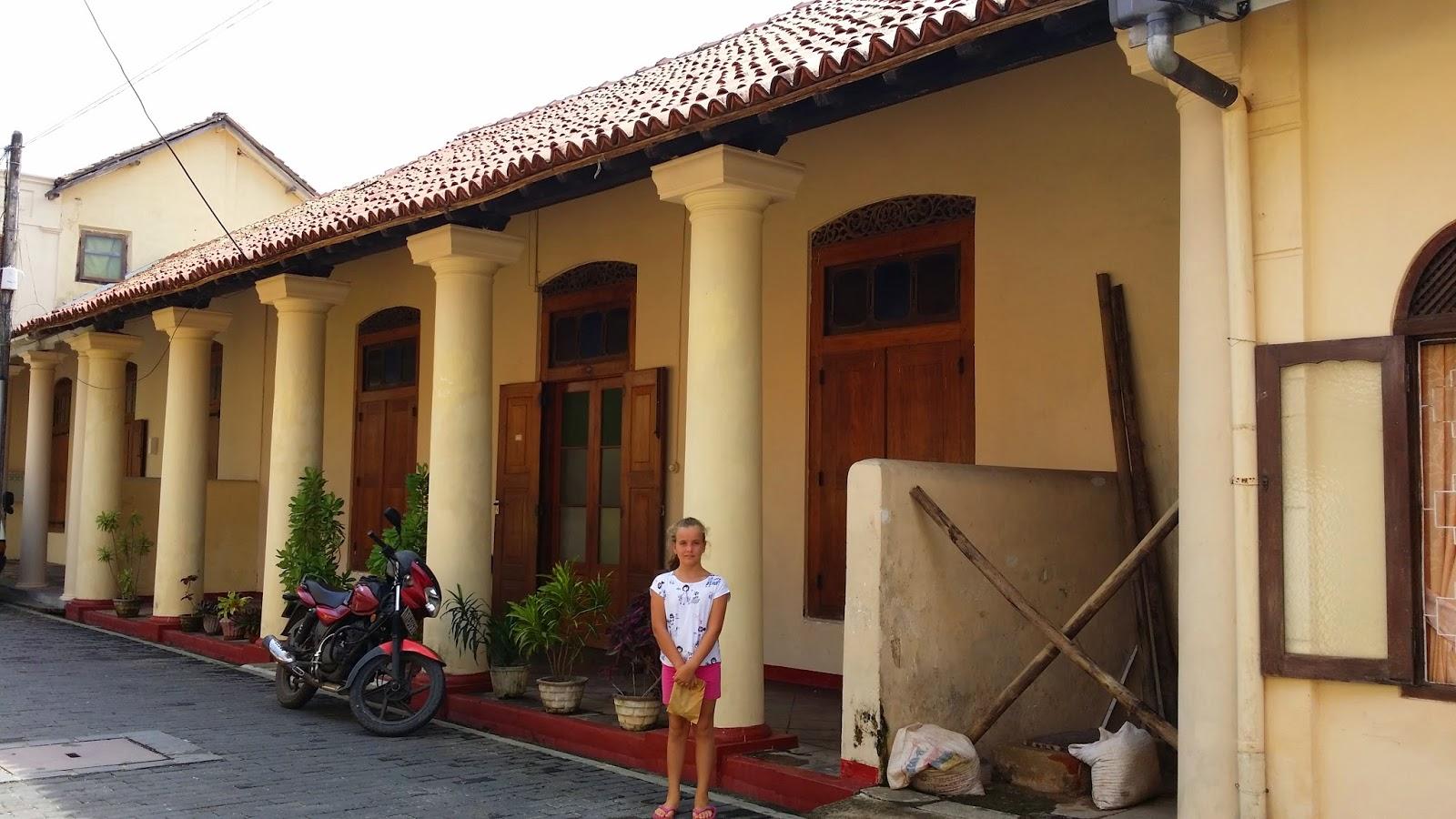 Arquitectura colonial en Galle (Sri Lanka)