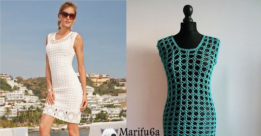 How to crochet summer tunic dress free pattern
