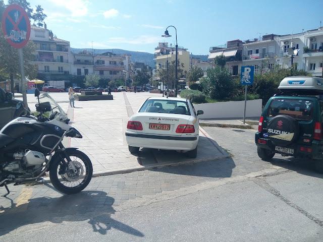 Ηγουμενίτσα: Το παρκάρισμα του αντιδημάρχου