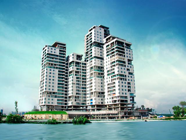 Hình ảnh thực tế dự án Đảo Kim Cương quận 2.