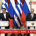 Η ερώτηση δημοσιογράφου για τη...γραβάτα και η αντίδραση του Πούτιν στο αστείο του Τσίπρα - ΒΙΝΤΕΟ