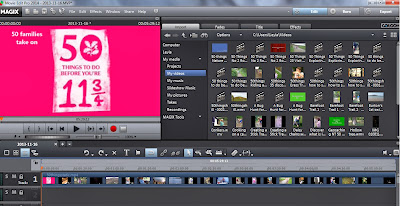 Magix Edit video