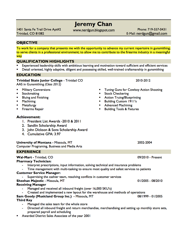 Resume Copy Pdf] Resume Examples For Electronics Engineering ...