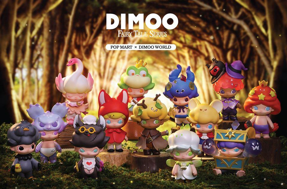 POP MART x DIMOO WORLD Midnight Circus Clown Candy Mini Figure Designer Art Toy