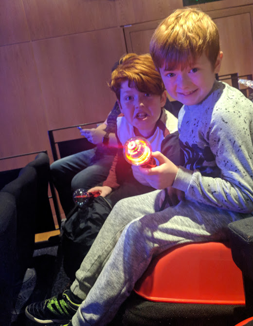 Review & Top Tips   Gala Theatre Durham Panto 2018   Snow White and the Seven Dwarfs  - booster seats for kids