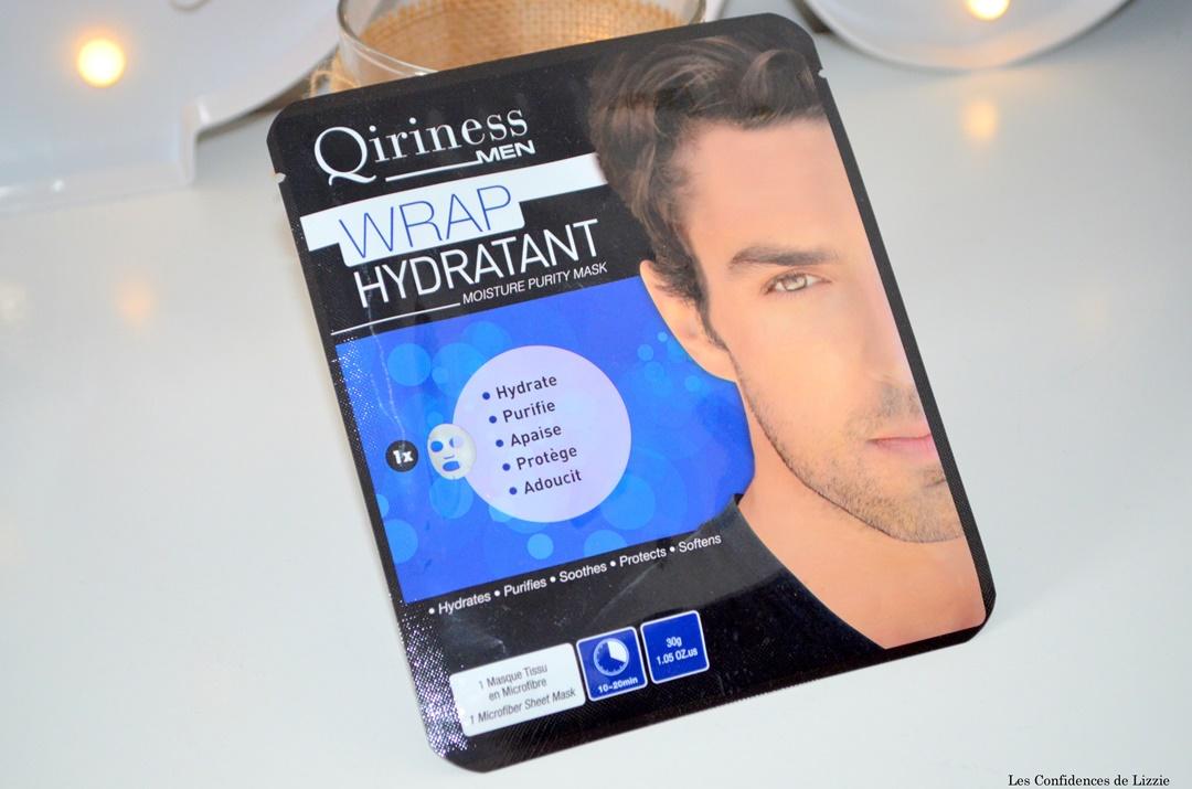 qiriness- peau douce - soin homme - soin pour la peau - soin spa - apaise - protege - adoucit la peau