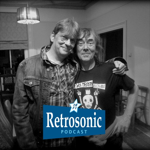 Retrosonic Podcast with Chris Wilson of The Flamin' Groovies & Rock Photographer Paul Slattery
