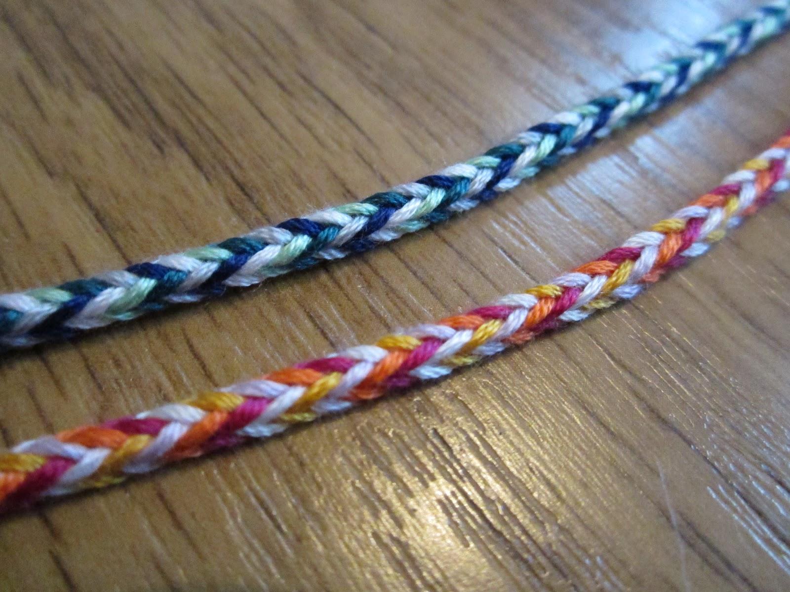 5 Strand Box Braid Friendship Bracelet Video Tutorial