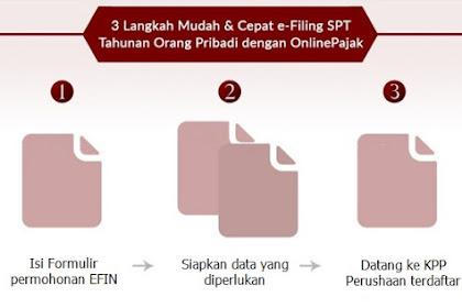 Ribetnya Unduh e-Filling Pajak Perlu EFIN