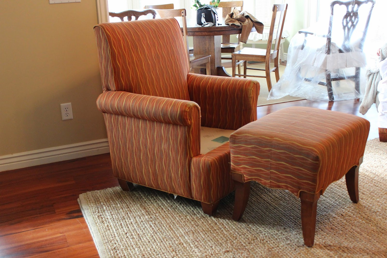 Custom Slipcovers By Shelley Chairs Ottomans And Dining