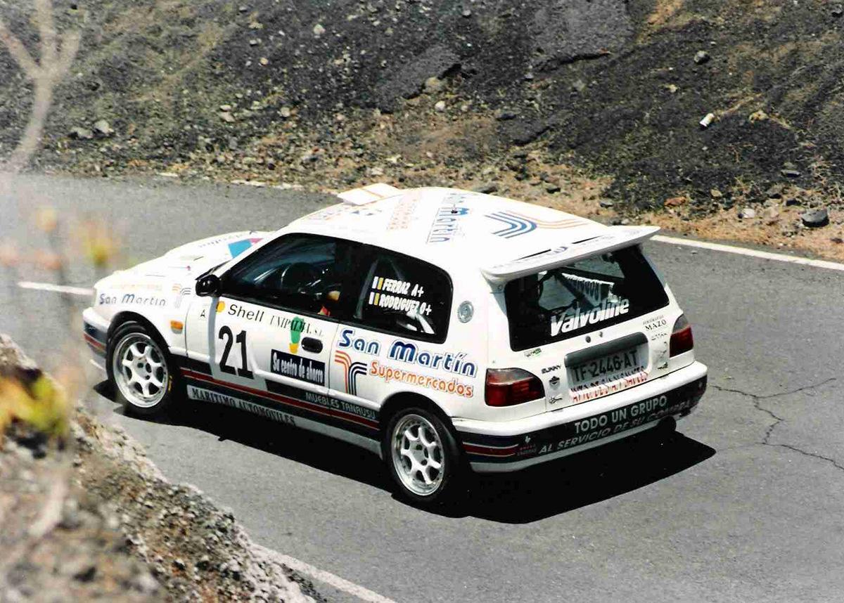 Nissan Sunny GTi-R, hot hatchback, samochody z lat 90, SR20DET, AWD, wyścigi, rajdy, sport