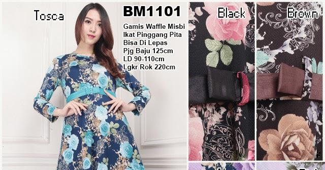 Bursa Grosir Busana Muslim Tanah Abang Bm1101 Long Dress