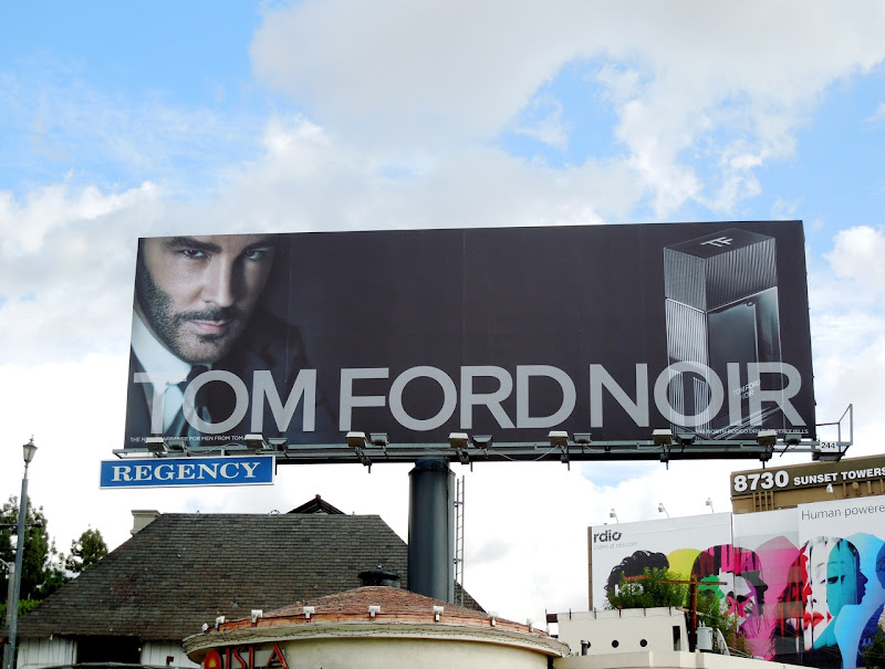 Tom Ford Noir billboard