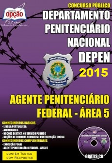 Apostila DEPEN Agente Penitenciário Federal - Área 5