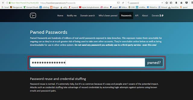 Cara Mengetahui Password Pernah di Hack Atau Belum-anditii.web.id