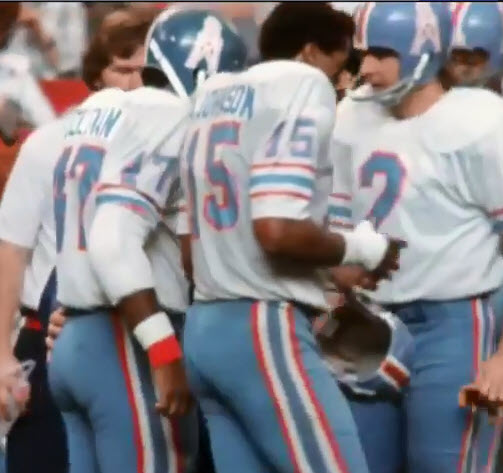 Pro Football Journal  Houston Oilers 1972-74 Helmet Anomaly 22a80cb6e