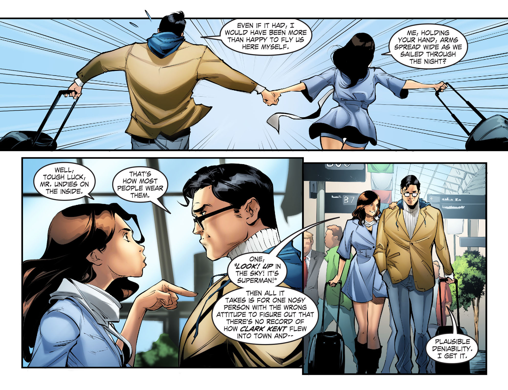 Read online Smallville: Season 11 comic -  Issue #57 - 4