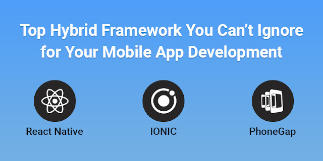 best hybrid mobile app frameworks