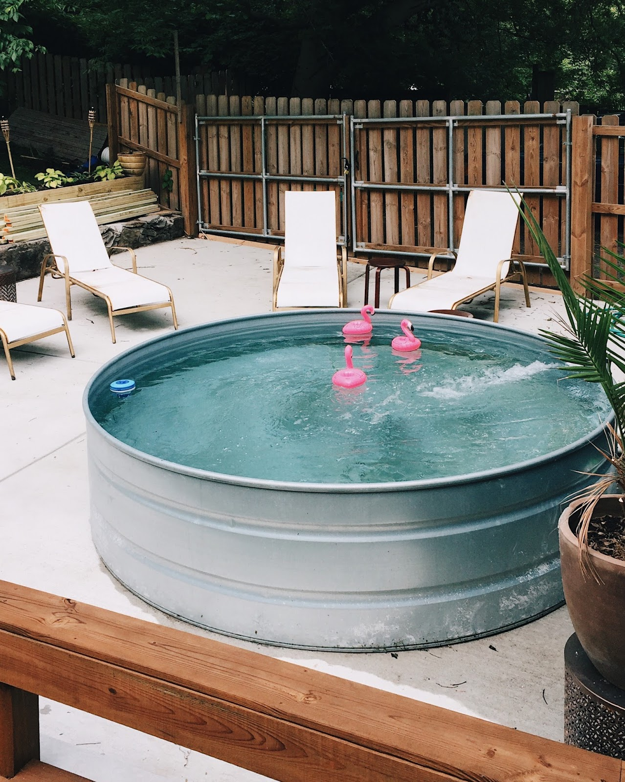 Diy stock tank pool everything you need to know - How to filter a stock tank swimming pool ...