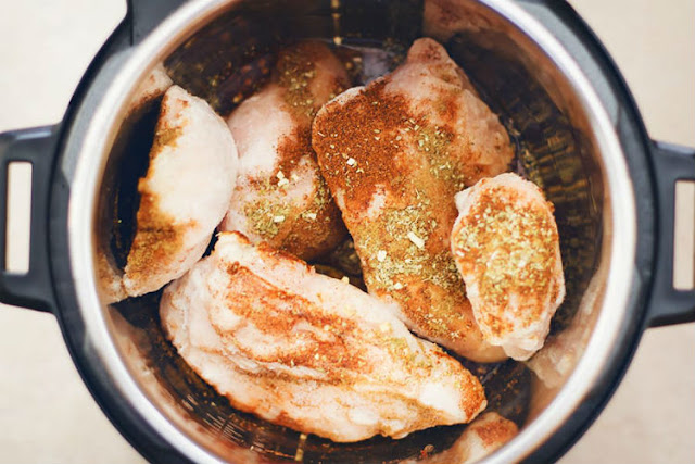 frozen chicken breast instant pot
