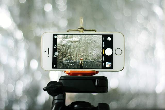 Smartphone, tripé, tripod