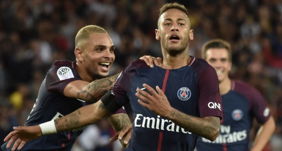 Brazilian superstar Neymar has been a hit for PSG