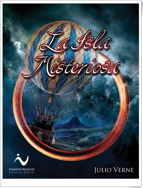 """La isla misteriosa"" de Julio Verne"