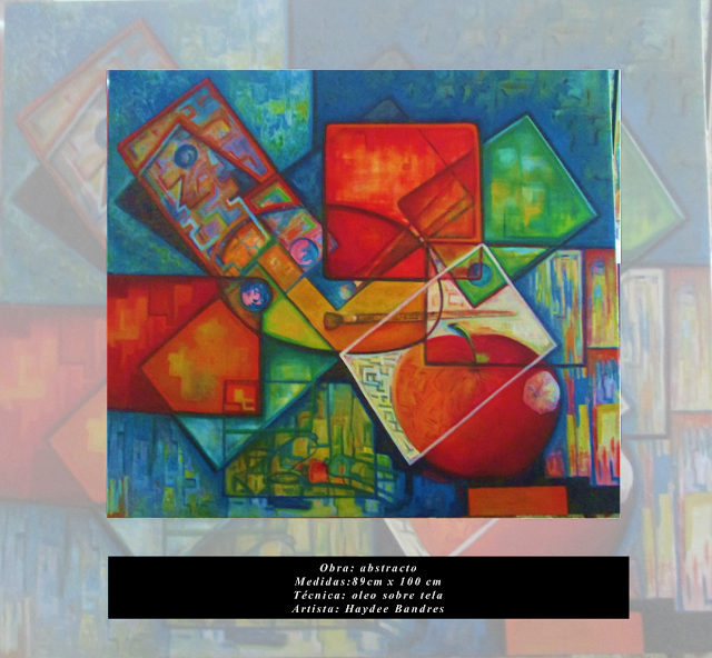 Obra abstracto ARTE