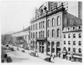 El Tammany Hall de Nueva York a principios del siglo XX