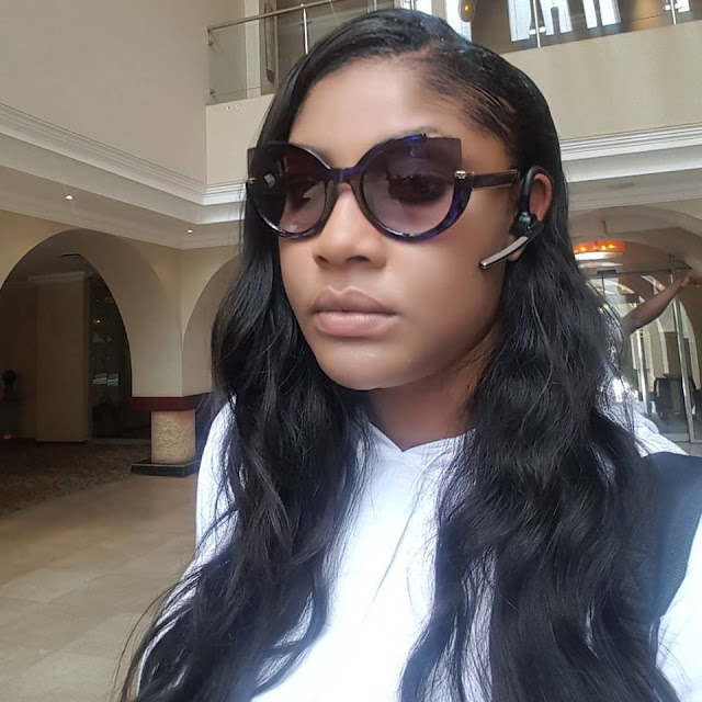 Angela Okorie looking sweet with a natural makeover