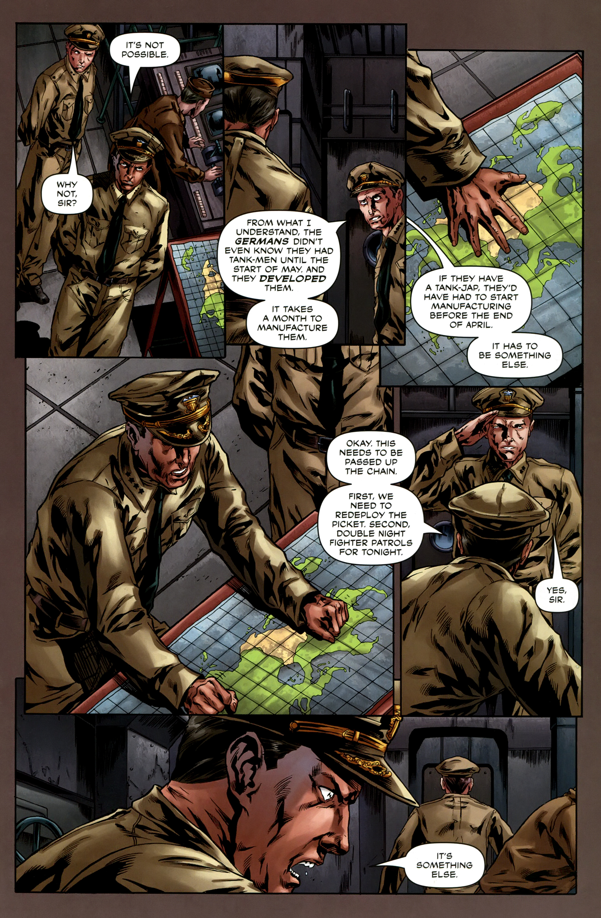 Read online Uber comic -  Issue #6 - 23
