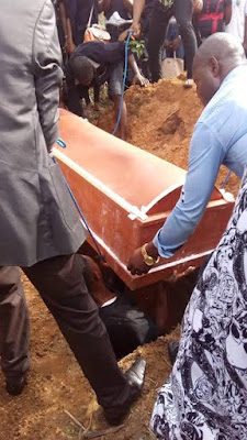 Pity! Young student and beauty pageant contestant who died in an accident laid to rest