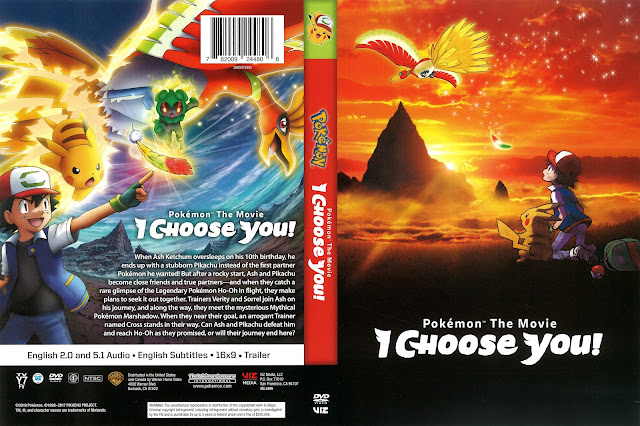 Pokémon The Movie I Choose You! DVD Cover
