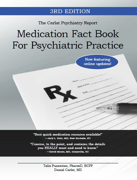 Buy the Carlat Medication Fact Book