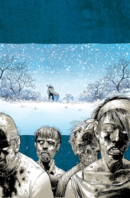 The Walking Dead - cover del volume 2 (Tony Moore)