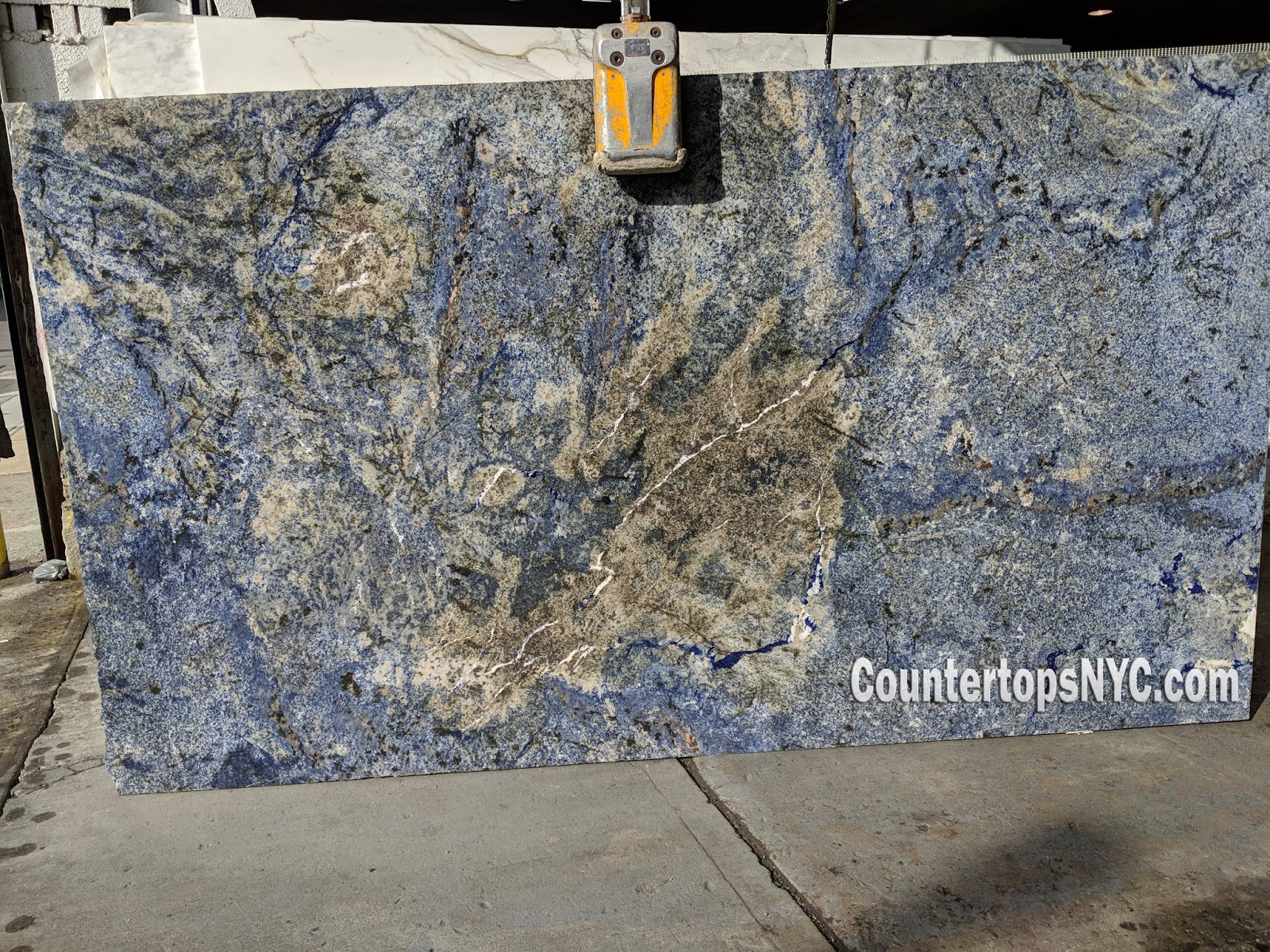 Blue Bahia Granite Slabs NYC