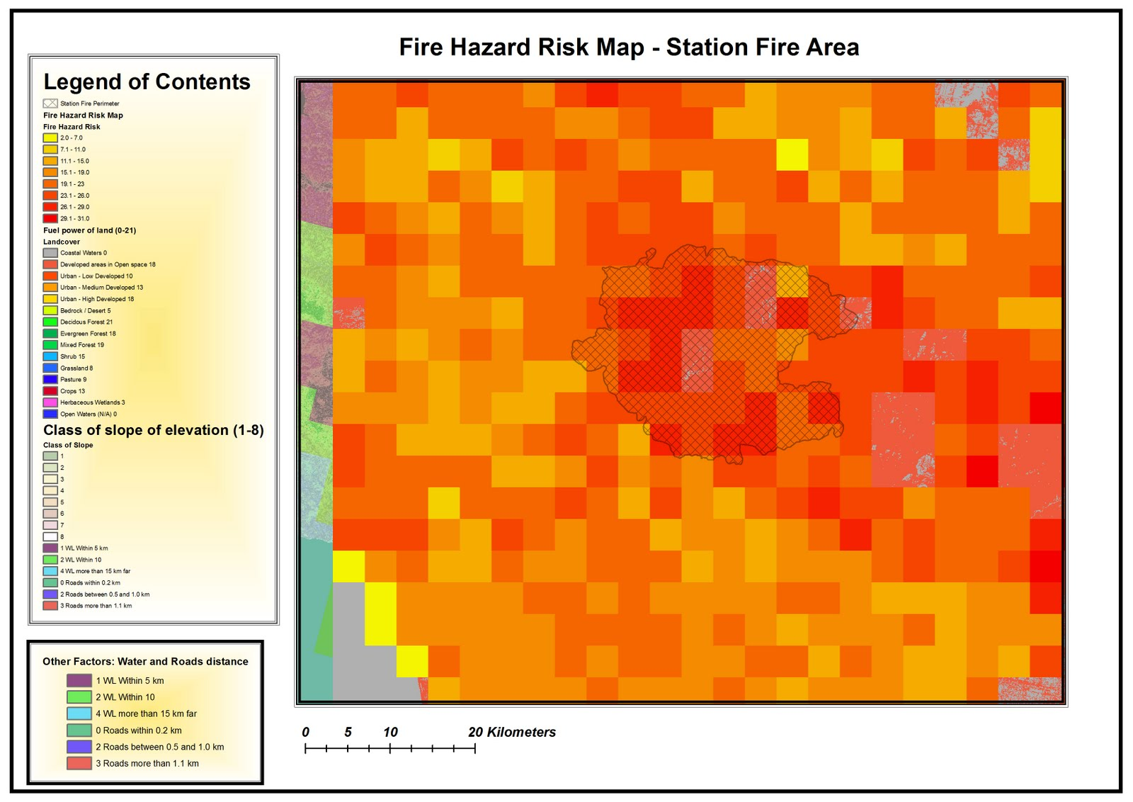GIS: From Introduction to Advanced tools of ArcGis: Fire