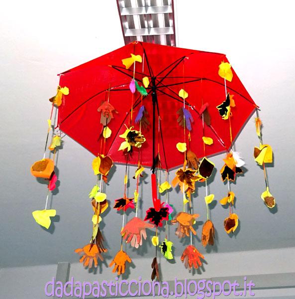 Dada pasticciona decorare l 39 aula con ombrelli dedicati for Addobbi autunnali per l aula