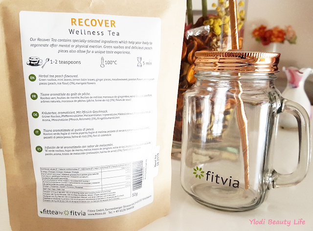 ingredienti recover tea fittea