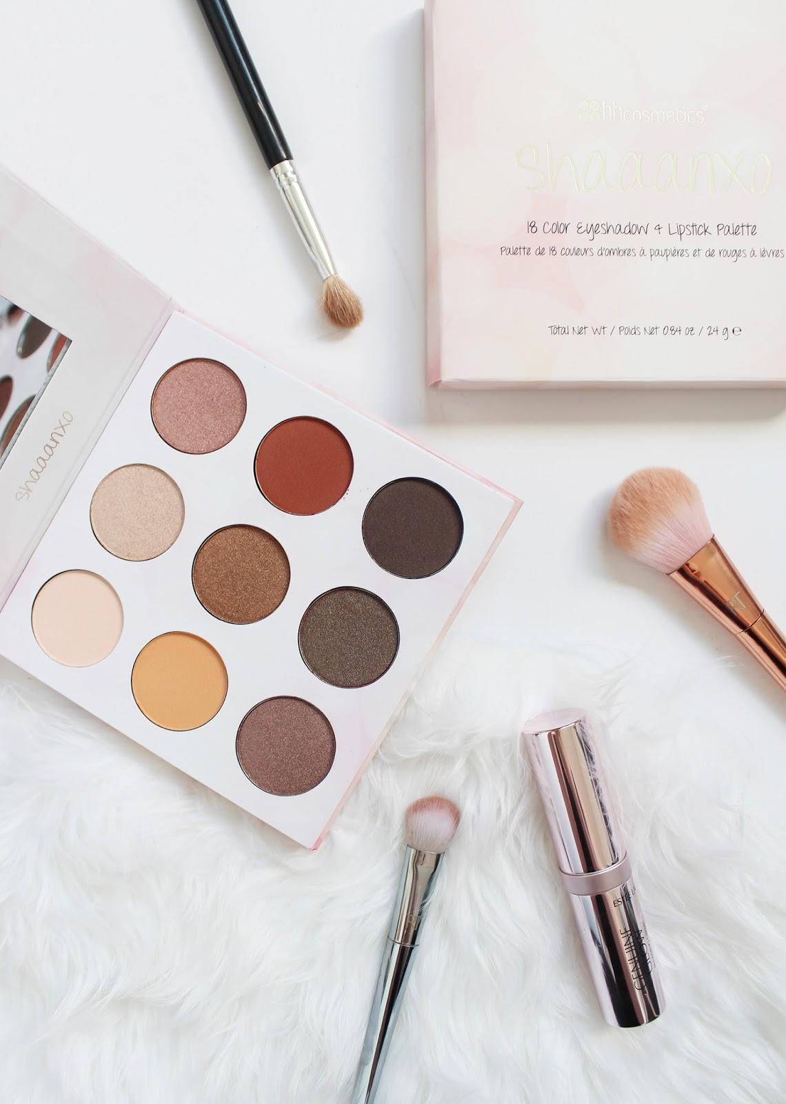 BH COSMETICS | Shaaanxo 18 Color Eyeshadow + Lipstick Palette - Review + Swatches - CassandraMyee