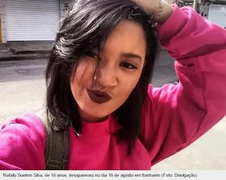 Mãe procura filha desaparecida há 7 dias em Itanhaém, SP.