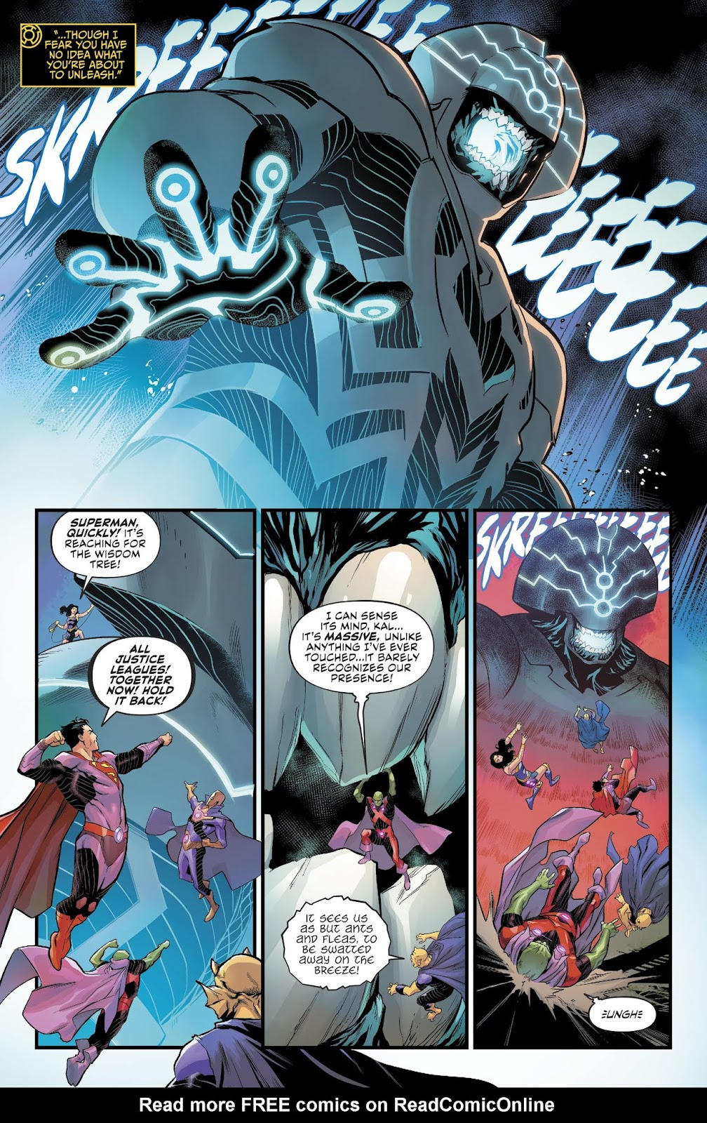 Read online Justice League: No Justice comic -  Issue #3 - 14