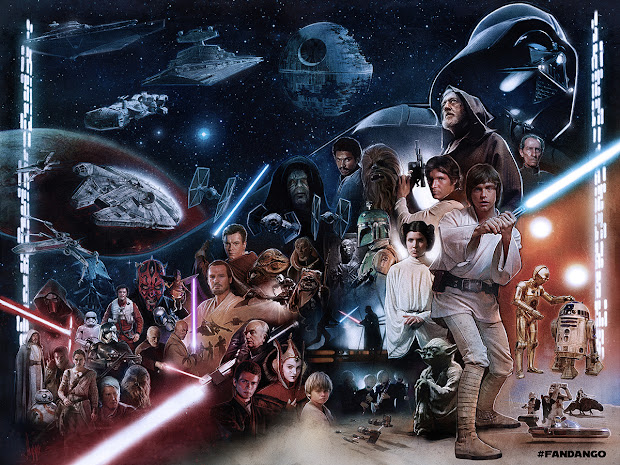 1000 Art Star Wars