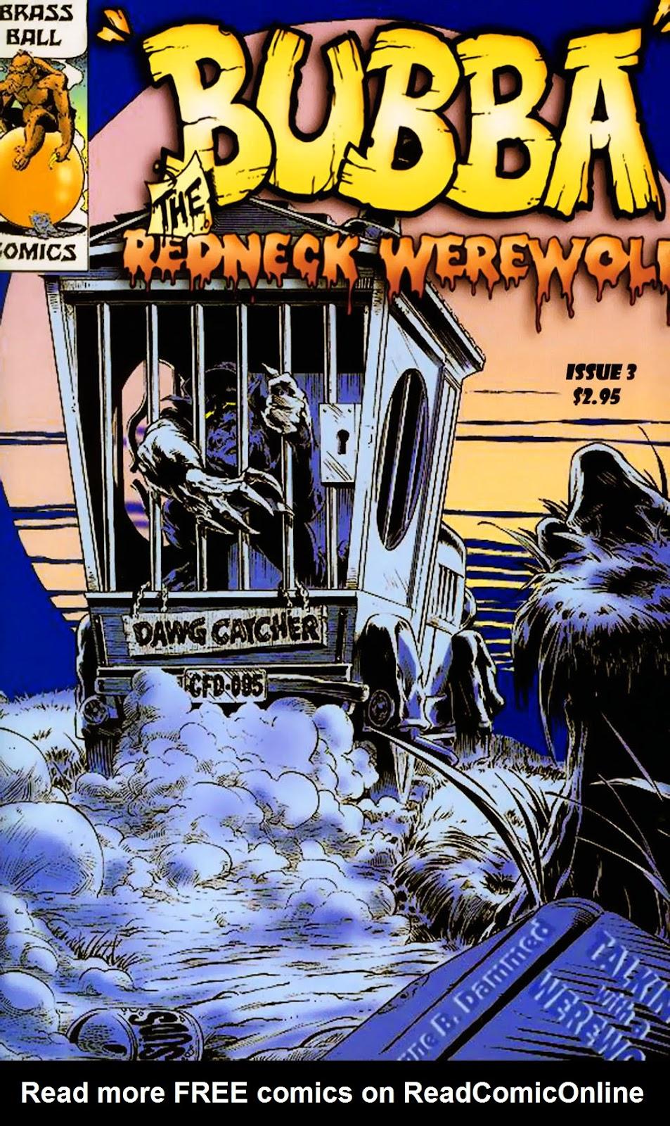 Bubba the Redneck Werewolf 3 Page 1