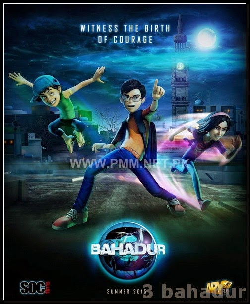 3 Bahadur (2015) Pakistani Movie Download / Online In 300MB