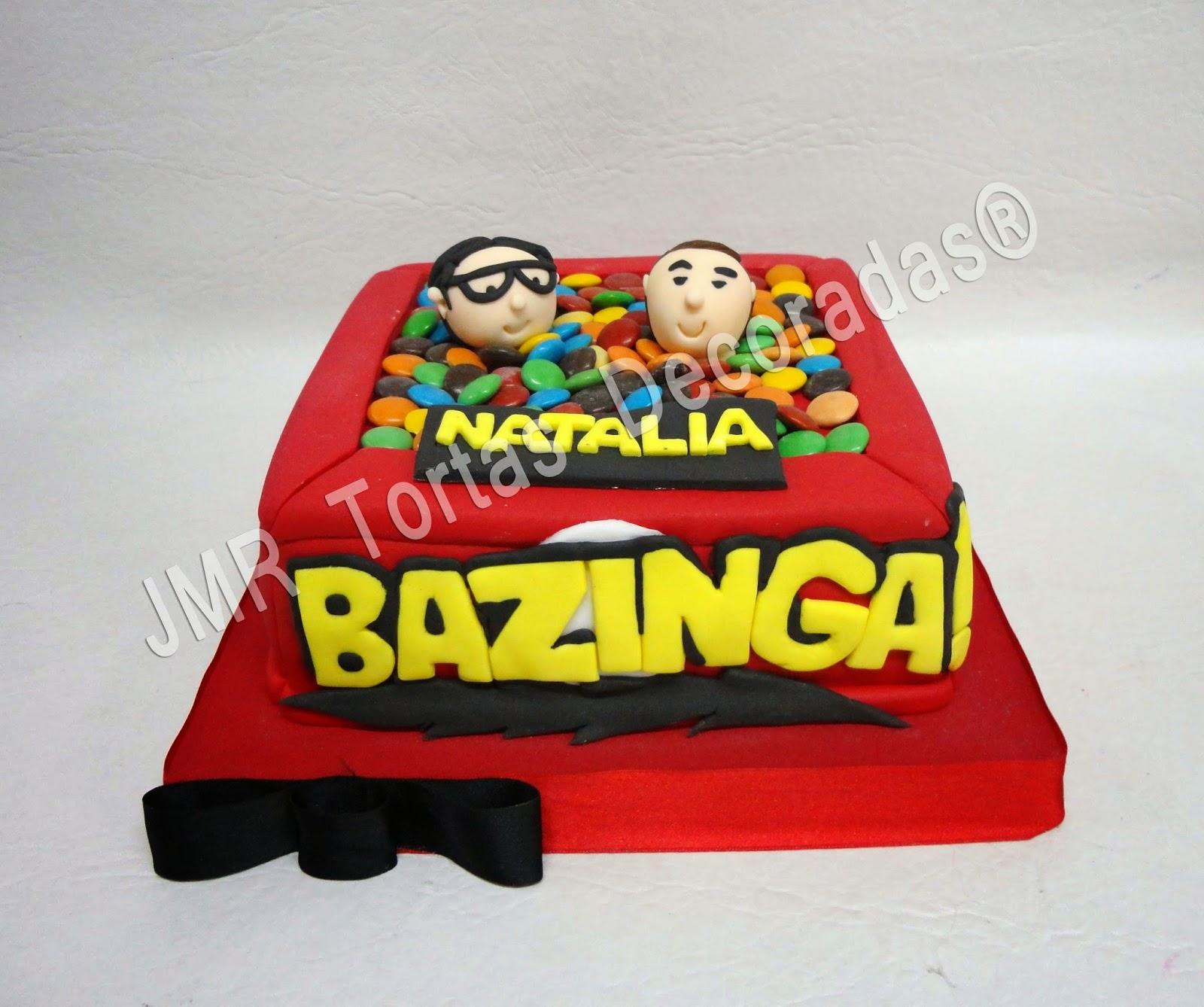 Torta The Big Bang Theory Tbbt Cake