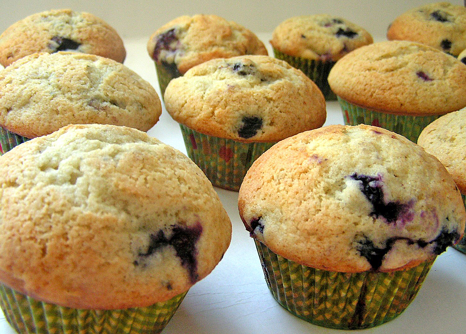 AMAZING BLUEBERRY MUFFINS - Butter with a Side of Bread - photo#16